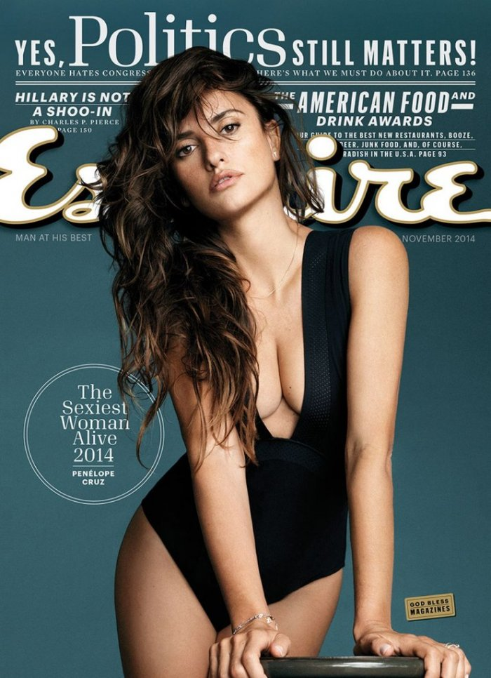 Пенелопа Крус (Penelope Cruz) для журнала Esquire US, (ноябрь 2014)
