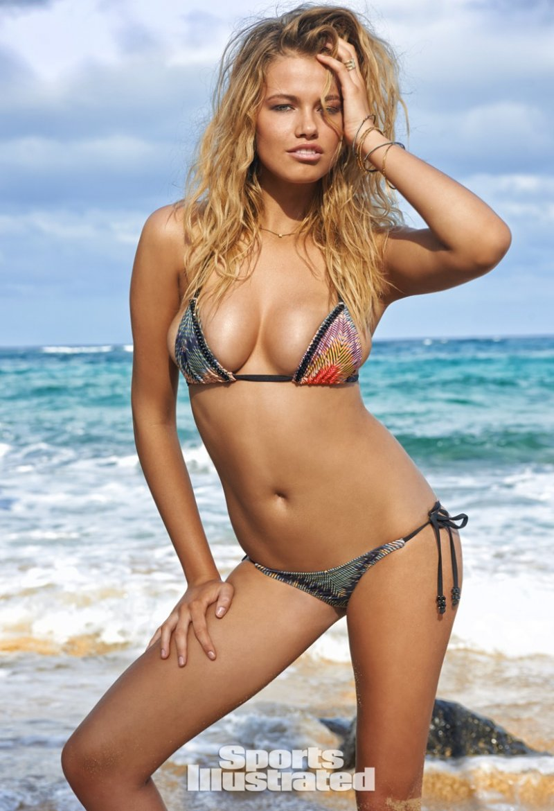 Хейли Клосон (Hailey Clauson) в фотосессии для Sports Illustrated Swimsuit (2015)